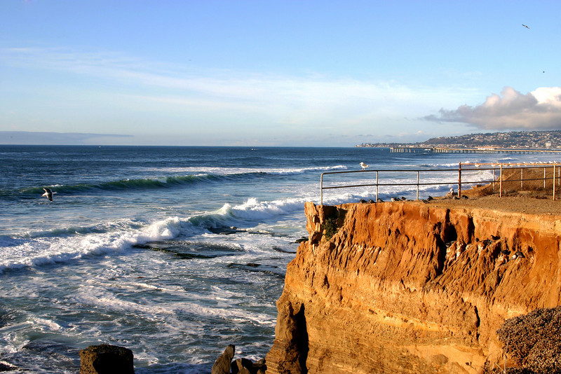 San Diego Beaches, View from Sunset Cliffs