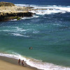 San Diego Beaches, Children Playing on La Jolla Beach