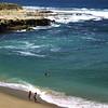 San Diego Beaches, Children Playing on La Jolla Beach