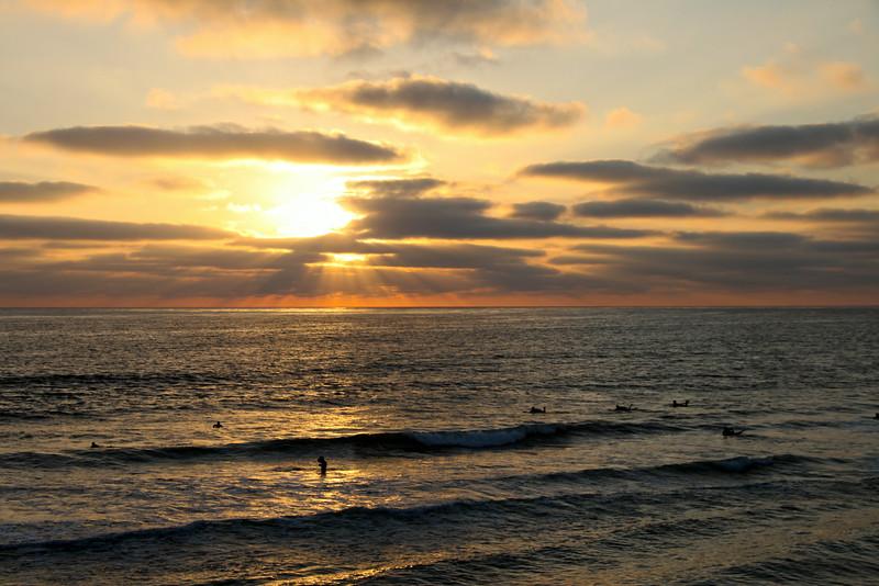 Pacific Beach San Diego, Summer Sunset