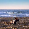 San Diego Beaches, Watching Surfers