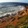 San Diego Beaches, La Jolla Cliffs in Spring