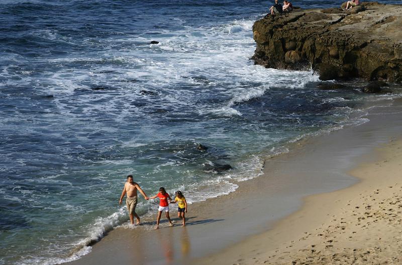 San Diego Beaches, Family Fun in La Jolla