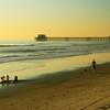 San Diego Beaches, Oceanside Pier at Dusk