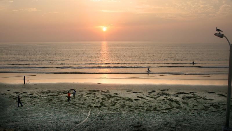 San Diego Beaches, Sunset La Jolla Shores