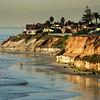 San Diego Beaches, North View onto Carlsbad Beach