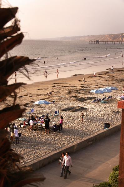 San Diego Beaches, La Jolla Shores at Dusk