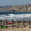 San Diego Beaches, Fun in Surf at La Jolla Shores