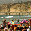 San Diego Beaches, Summer Bathers at La Jolla Shores