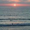 San Diego Beaches, Del Mar Beach Sunset