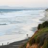 San Diego Beaches, Encinitas Beach Walk at Twilight