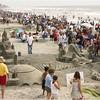 San Diego Beaches, Sandcastles, Imperial Beach
