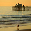 San Diego Beaches, Oceanside Pier, Couple on Beach