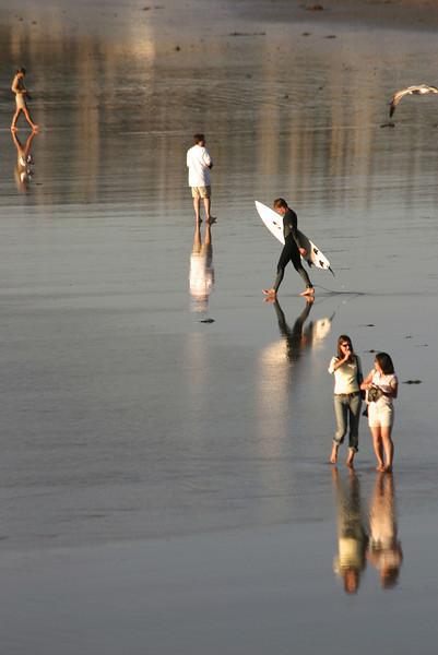 San Diego Beaches, Beach Reflections
