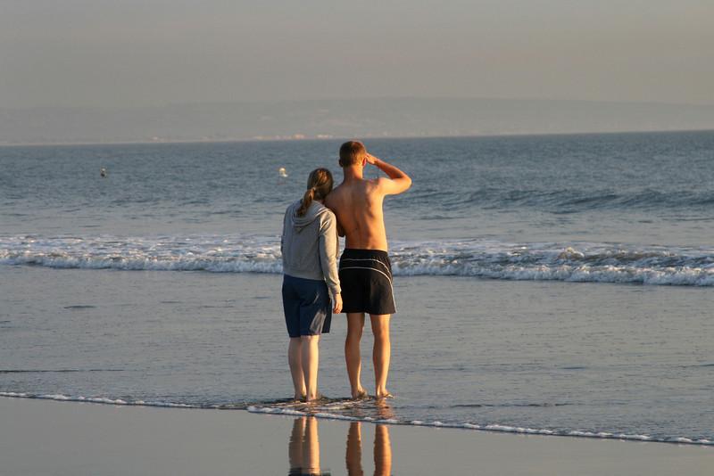 San Diego Beaches, Couple on Coronado Beach