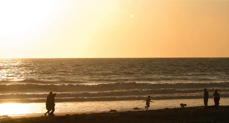 San Diego Beaches, Mission Beach sunset