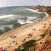 San Diego Beaches, Sunset Cliffs and Summer Bathers