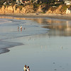 San Diego Beaches, Walkers on North Pacific Beach