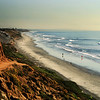 San Diego Beaches, South Carlsbad Beach & Cliffs