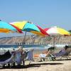 San Diego Beaches, Colorful Umbrellas on La Jolla Shores