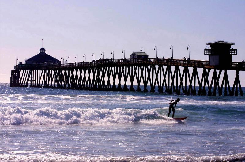 San Diego Beaches, Imperial Beach Surfer