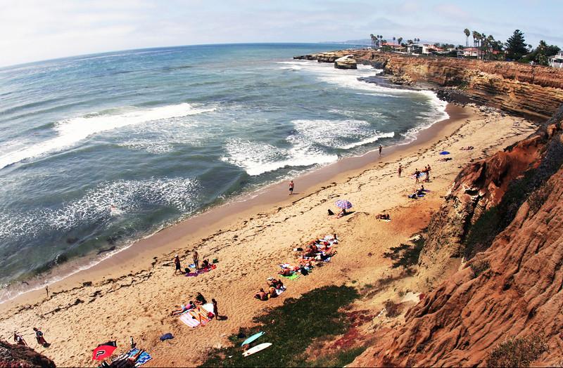 San Diego Beaches, Sunset Cliffs San Diego
