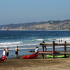 San Diego Beaches, La Jolla Shores with Kayaks
