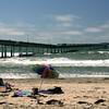 Ocean Beach, Pier with Umbrella