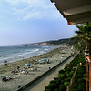 San Diego Beaches, Couple on Balcony of La Jolla Shores Hotel