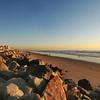 San Diego Beaches, View South from Oceanside Beach