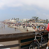 San Diego Beaches, View on Imperial Beach from Pier
