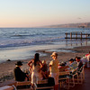 San Diego Beaches,  La Jolla Beach & Tennis Club Guests Enjoying Sunset