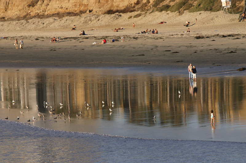 San Diego Beaches, Stroller, North Pacific Beach