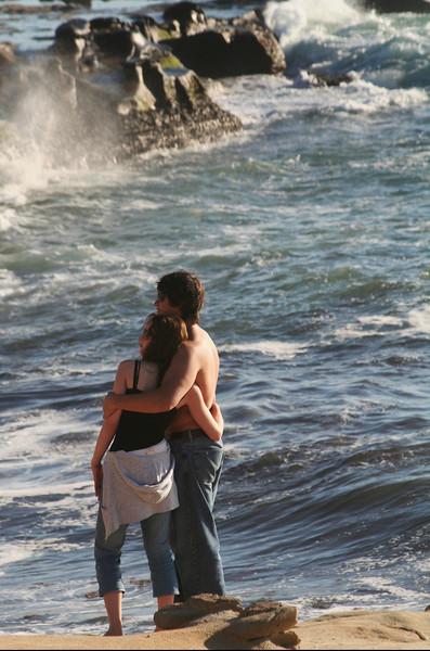 San Diego Beaches, Romantic Couple in La Jolla