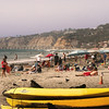 San Diego Beaches, Kayaks on La Jolla Shores