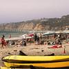 San Diego Beaches, Kayaks on La Jolla Shores