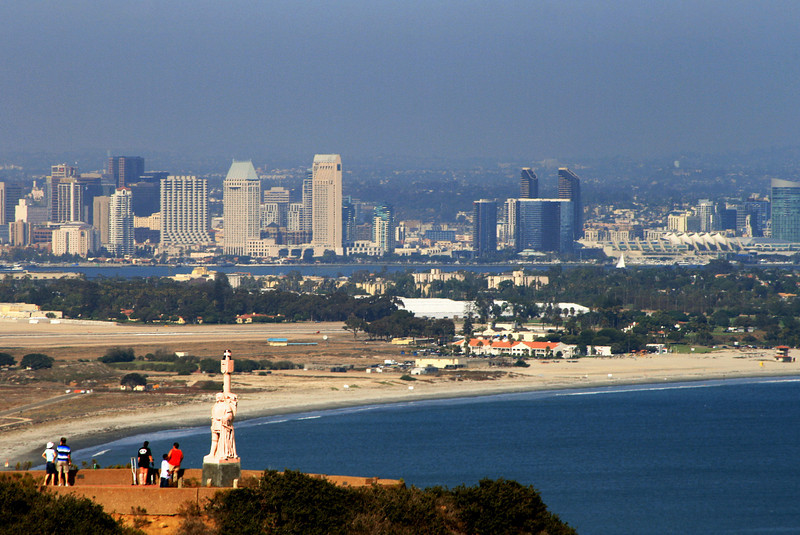 Cabrillo National Monument, View on Skyline