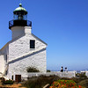 Cabrillo National Monument,  Lighthouse with Flowers