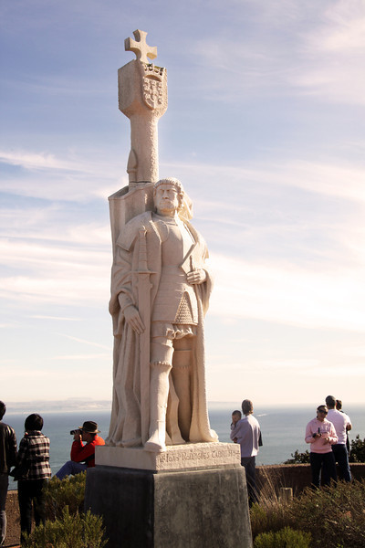 Cabrillo National Monument,  Cabrillo Statue at Dusk