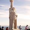 Cabrillo National Monument,  Cabrillo Statue at Dusk