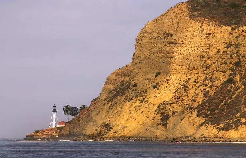 New Pt  Loma Lighthouse, Pt Cabrillo Lighthouse