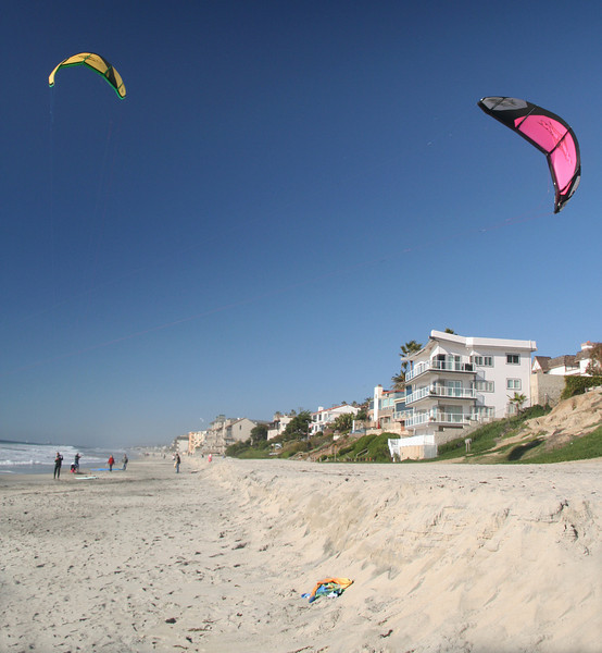 White Sandy Beach, Carlsbad California