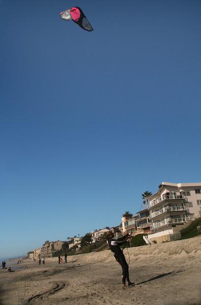 Kite Surfer, Carlsbad Beach