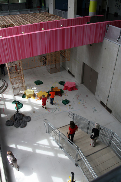 Children's Museum,View From Stairwell