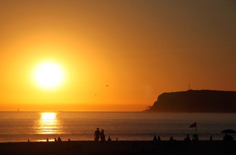 Coronado, Beach Sunset