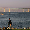 Coronado, Coronado Bridge from Embarcadero South
