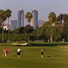 Coronado, Municipal Golf Course with San Diego Skyline