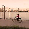 Coronado, Biking at Sunset