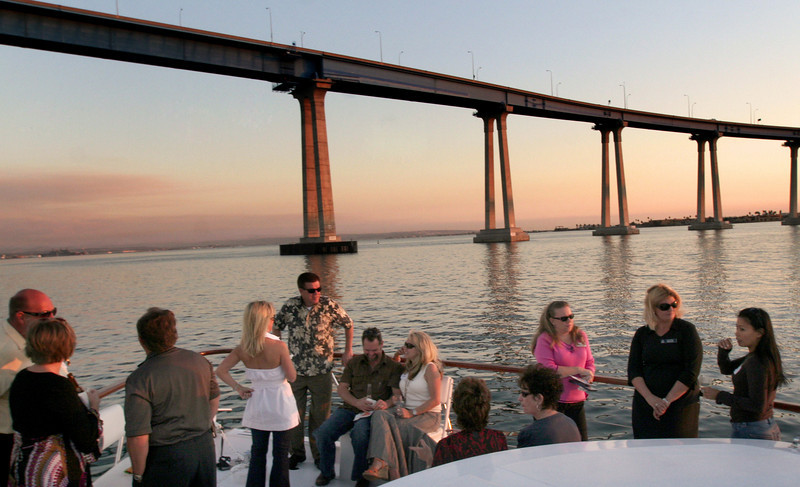 Coronado, Convention Delegates on Cruise, Coronado Bridge