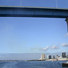 Coronado, San Diego Skyline through Bridge